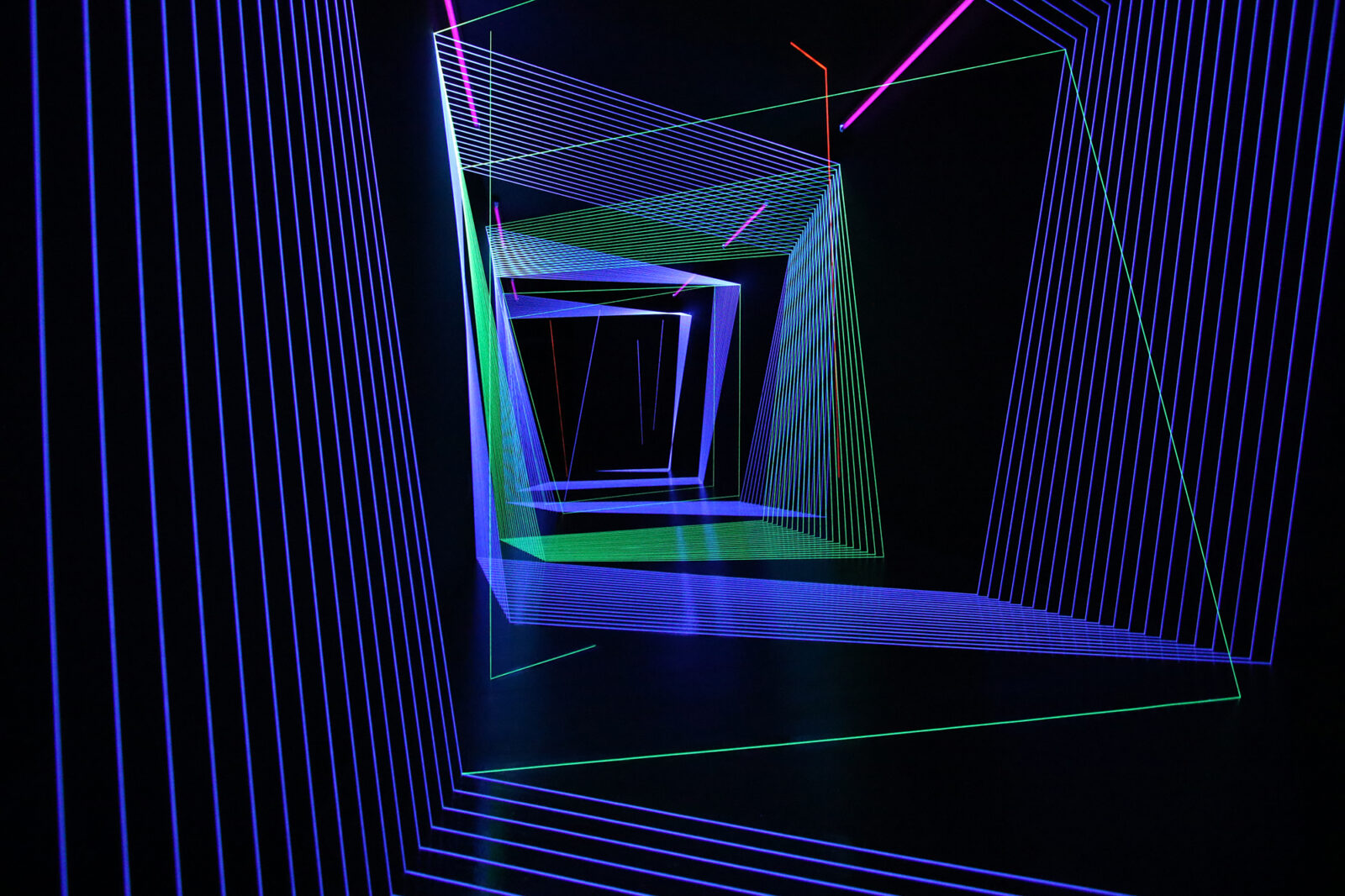 Drawing in Space Corridor 1